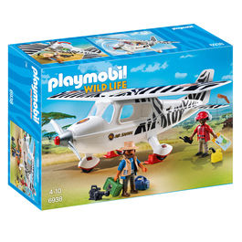 Avion Safari Playmobil Wild Life