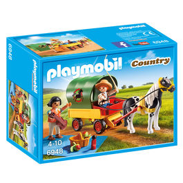 Playmobil Country Picnic with pony and carriage