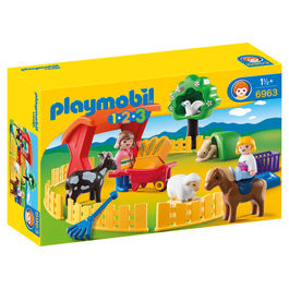 Recinto de Animales Playmobil 1.2.3