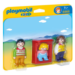 Padres con Bebe Playmobil 1.2.3