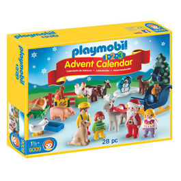 Calendario Navidad Granja de Animales Playmobil 1.2.3 Advent Calendar