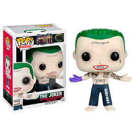 Figura POP Suicide Squad Joker Shirtless