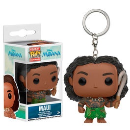 Llavero Pocket POP! Disney Vaiana Moana Maui