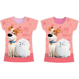 Camiseta Mascotas Secret Life of Pets surtido