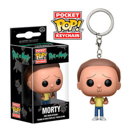 Llavero Pocket POP! Rick and Morty Morty