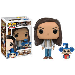 POP figure Labyrinth Sara and Worm