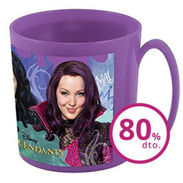 Taza microondas Descendientes Descendants Disney