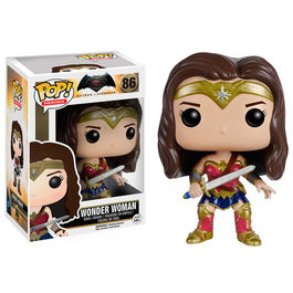 Figura POP DC Batman vs Superman Wonder Woman