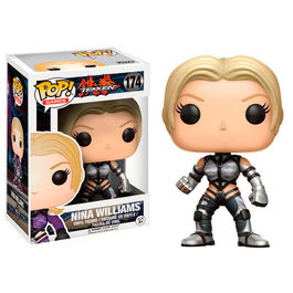 Figura Vinyl POP! Tekken Nina Williams silver