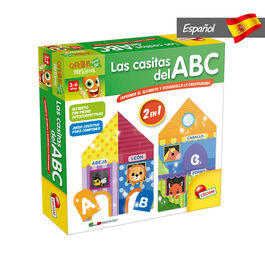Spanish ABC Houses game