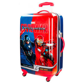Maleta trolley ABS Vengadores Capitan America Civil War 4r 67cm