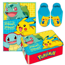 Set manta + pantuflas Pokemon