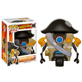 Figura POP! Vinyl Borderlands Emperor Claptrap
