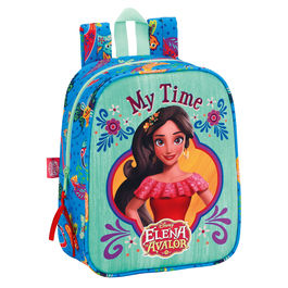 Mochila Elena de Avalor Disney 27cm adaptable