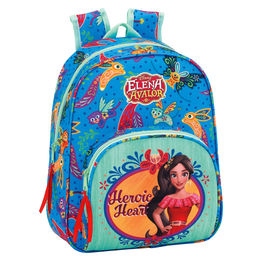 Mochila Elena de Avalor Disney 34cm adaptable