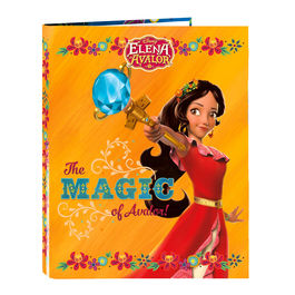 Carpeta Elena de Avalor Disney A4 anillas
