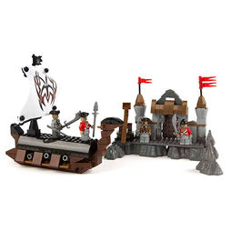 Pirate Ship game building