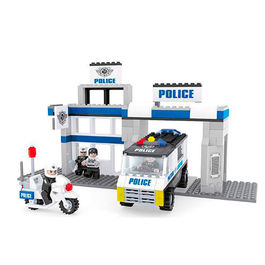Police Station game building