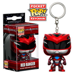 Llavero Pocket POP! Power Rangers Red Ranger