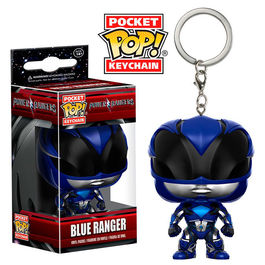 Llavero Pocket POP! Power Rangers Blue Ranger