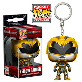 Llavero Pocket POP! Power Rangers Yellow Ranger
