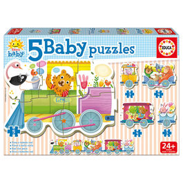 Train of Animals Baby puzzle
