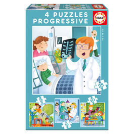 I Want to Be progresive puzzle 12-16-20-25pcs