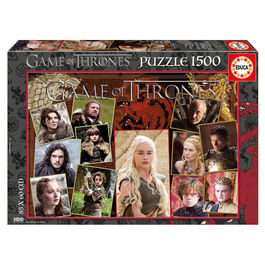 Puzzle Game of Thrones 1500pz