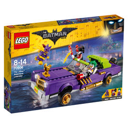 Coche modificado de The Joker Lego Batman