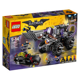 Doble demolicion de Dos Caras Lego Batman