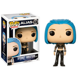 Figura POP Alias Sydney Blue Hair