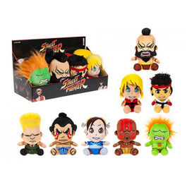 Street Fighter assorted plush toy 15cm