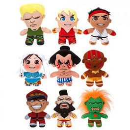 Street Fighter assorted plush toy 20cm