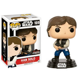 Figura POP! Vinyl Star Wars Celebration 2017 Han Solo Action Pose