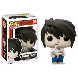 Figura POP! Vinyl Death Note L with Cake