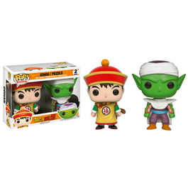 Set figuras Vinyl POP! Dragon Ball Z Gohan y Piccolo