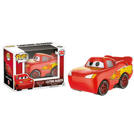 Figura POP! Vinyl Disney Cars 3 Lightning McQueen Chromed