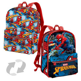 Marvel Spiderman reversible backpack 38cm