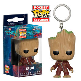 Llavero Pocket POP Marvel Guardians of the Galaxy 2 Ravager Groot
