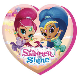 Shimmer and Shine shaped cushion 40cm