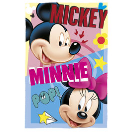 Disney Mickey Minnie polar blanket