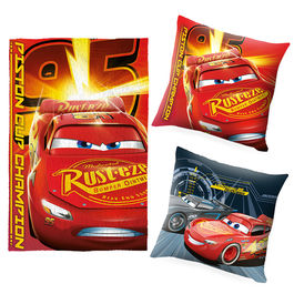 Set cojin + manta Cars Disney