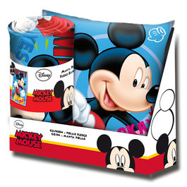 Set cojin + manta Mickey Disney