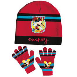 Set gorro guantes Mickey Disney