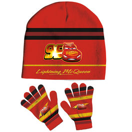 Set gorro guantes Cars Disney