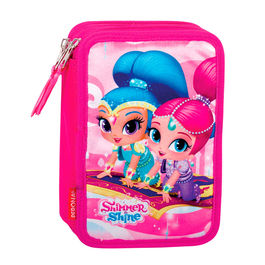 Shimmer and Shine triple pencil case