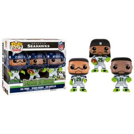 Set figuras POP! Vinyl Seattle Seahawks Legion of Boom