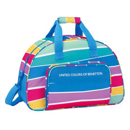 Bolsa deporte United Colors of Benetton Stripes 48cm