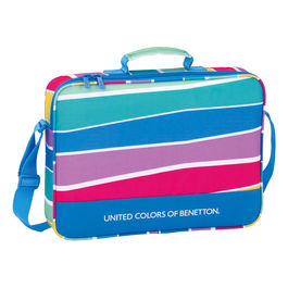 Cartera United Colors of Benetton Stripes extraescolares