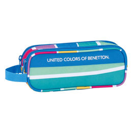 Portatodo United Colors of Benetton Stripes doble